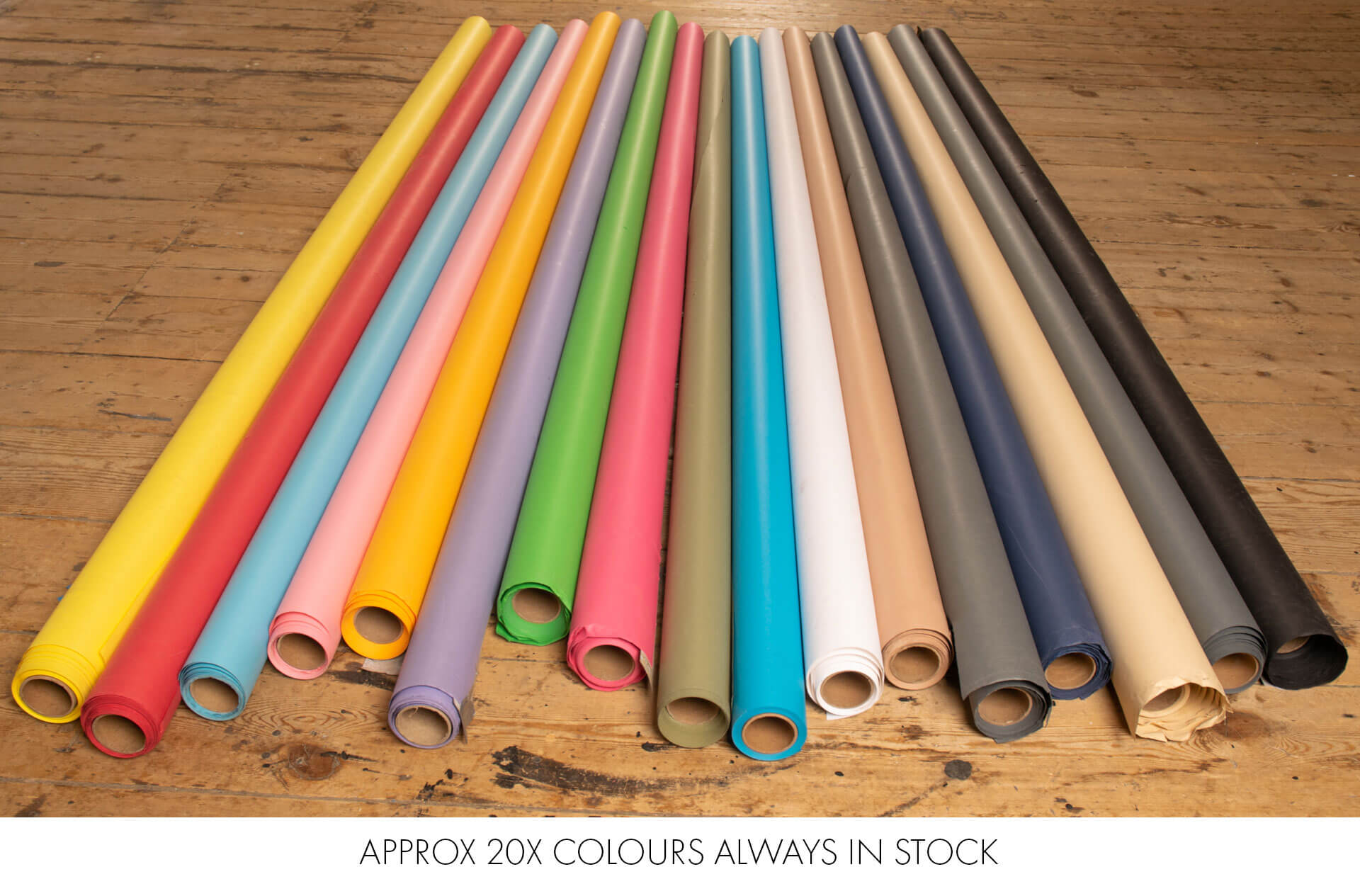 coloured backdrops in stock at nq photography studio Manchester